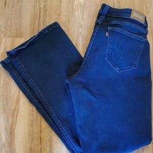 Women's Levi's 529 Curvy Boot Cut Jeans Size 10